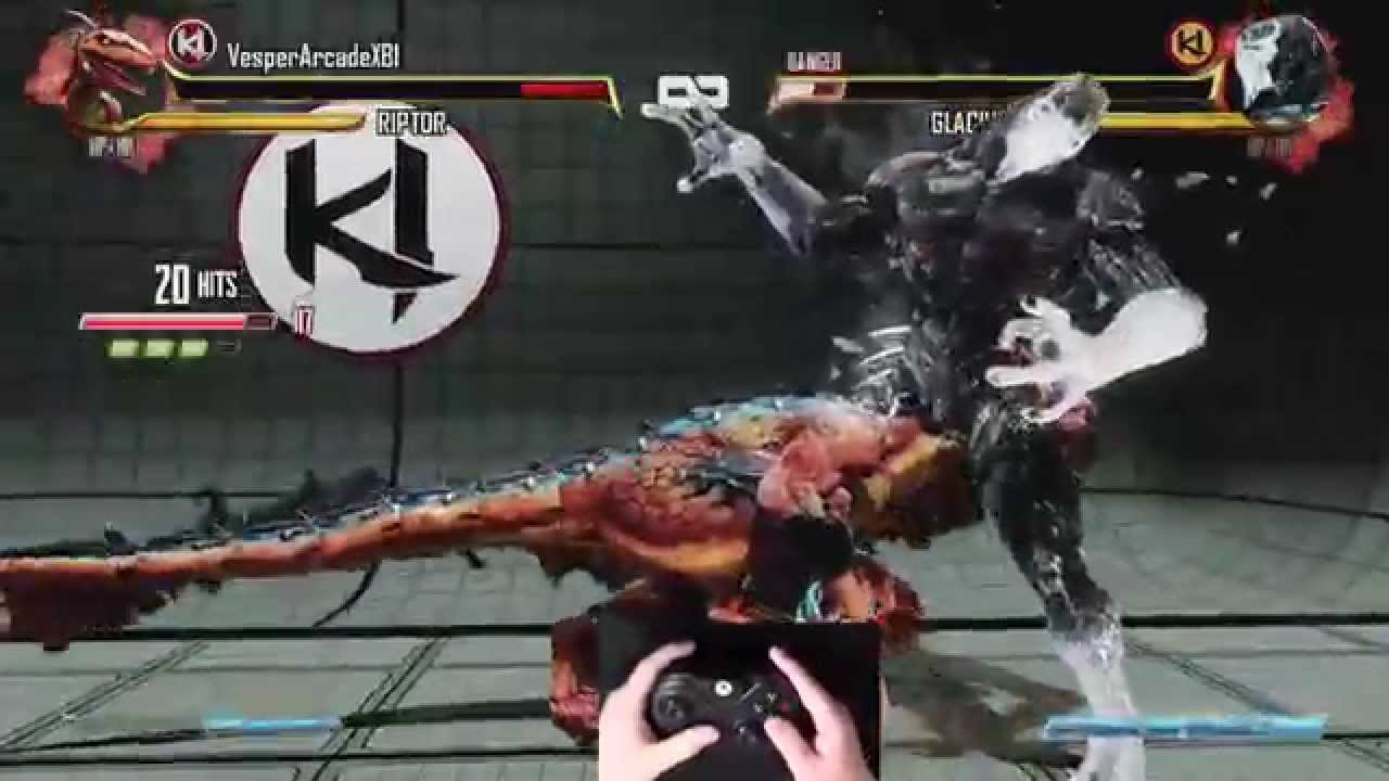 Killer Instinct - Riptor 173 Hit Triple Ultra Combo Legit (1080p 60fps)