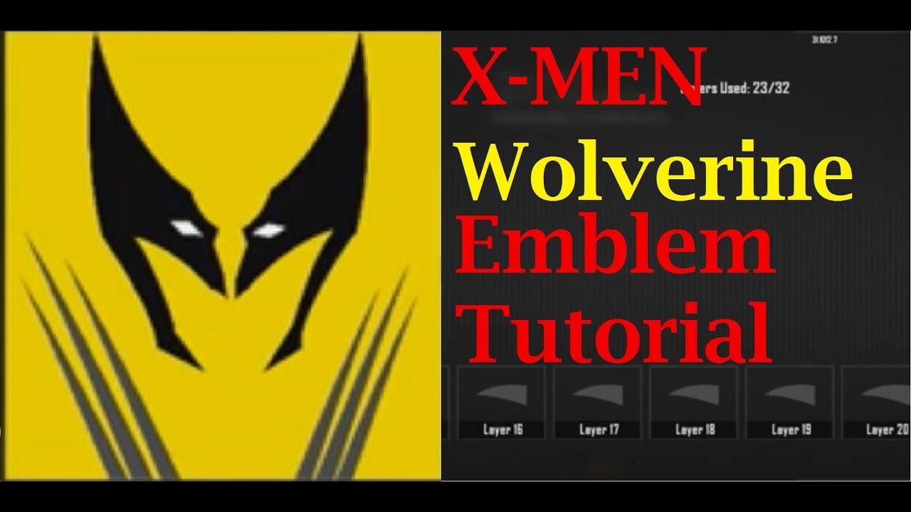 black ops 2 wolverine minimalistic emblem tutorial youtube