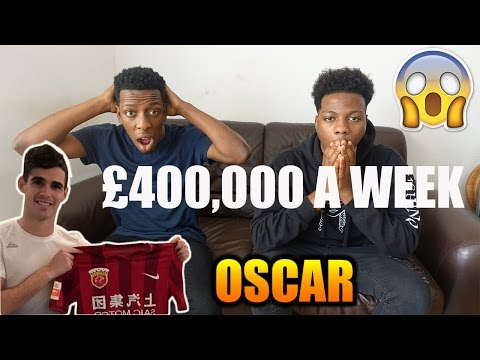 Chelsea's Oscar Signs For Shanghai SIPG | £400,000 A Week Contract!!!