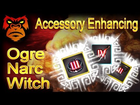 TRI / TET ACCESSORY ENHANCING - NARC / WITCH / OGRE | Black Desert Online Gameplay |  [ PC Xbox ]