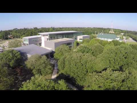 Aerial Video of the Main Library at Goodwood