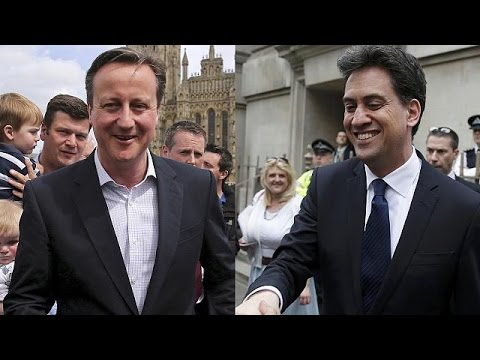 UK party leaders campaign hard in final days