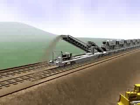 Lafarge's Self Discharging Train