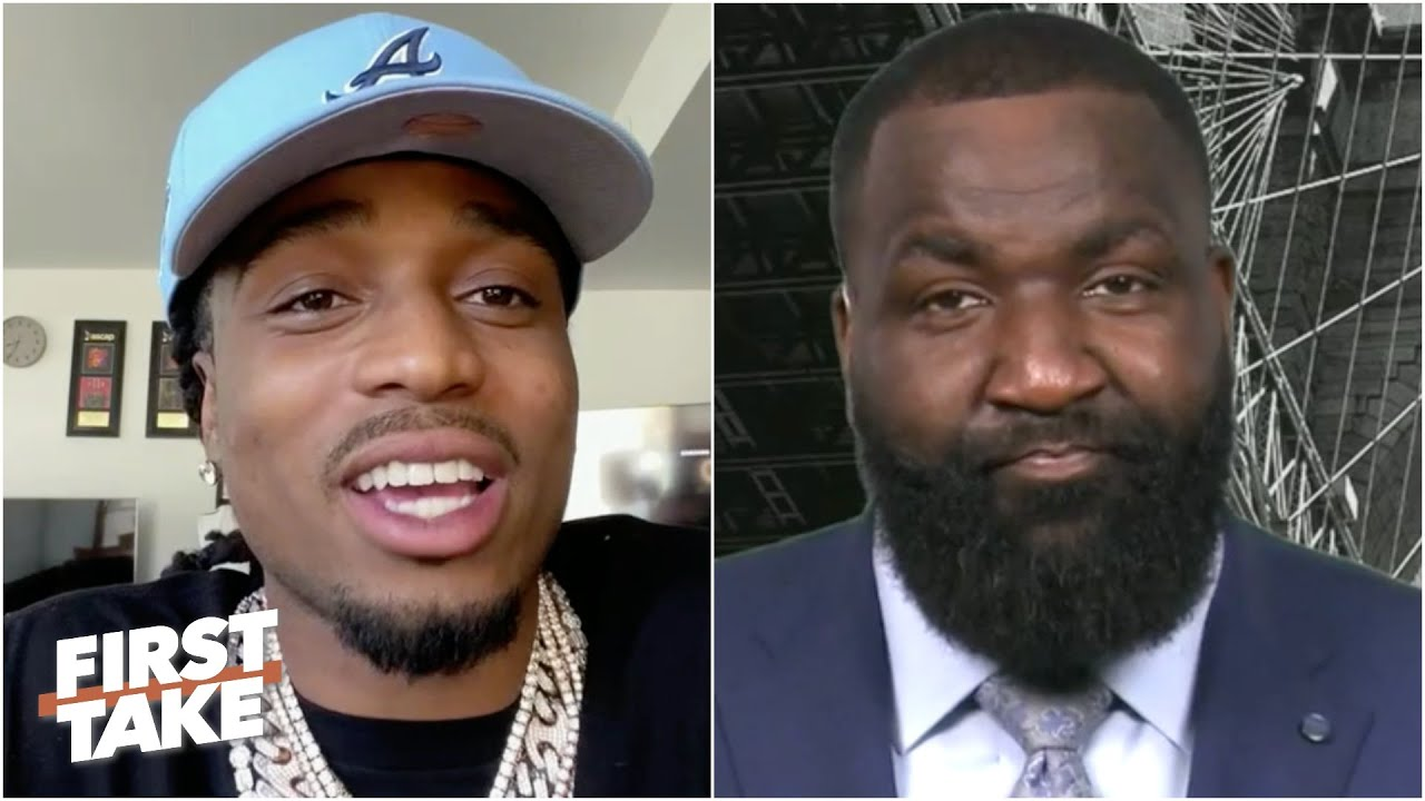 Download Kendrick Perkins confronts Quavo over Twitter jabs | First Take