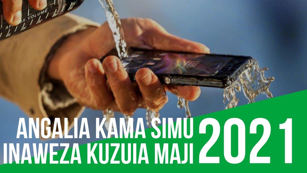 Angalia Kama Simu Inauwezo wa Kuzuia Maji #MaujanjaDK 1