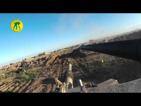 Iraqi Army Abrams GoPro footage in Anbar fighting against ISIS