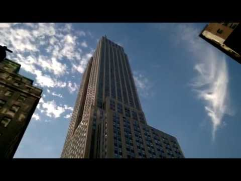 Empire State Building - street view, New York City tour
