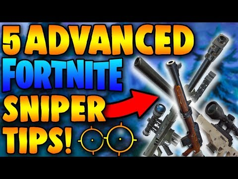 5 Advanced Sniper Tips – How To Hit Every Sniper Shot In Fortnite!