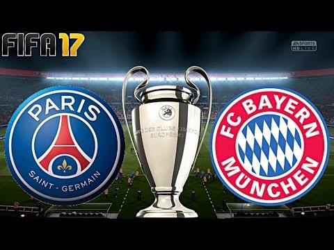 FIFA 17 - FC BAYERN MÜNCHEN vs. PARIS SAINT-GERMAIN | CHAMPIONS LEAGUE ACHTELFINALE ◄FCB #40►