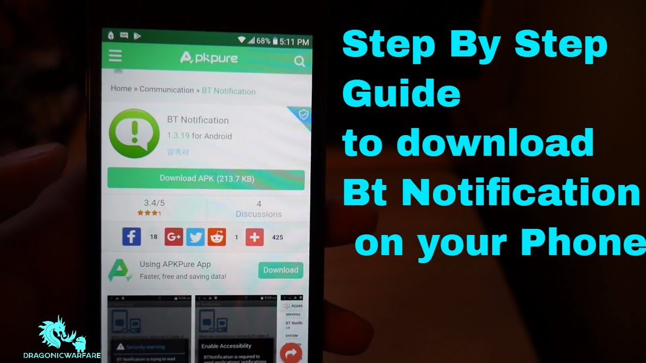 How to download BT Notification Best Smartwatch App 100% Working