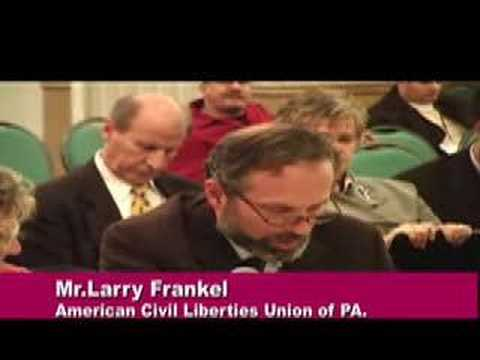 American Civil Liberties Union of PA. part1