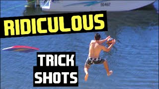 Incredible Trick Shots!!! | HowRidiculous