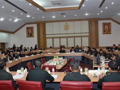 มมส ประชุมเตรียมความพร้อมงานพิธีพระราชทานปริญญาบัตร ประจำปีการศึกษา 2558-2559