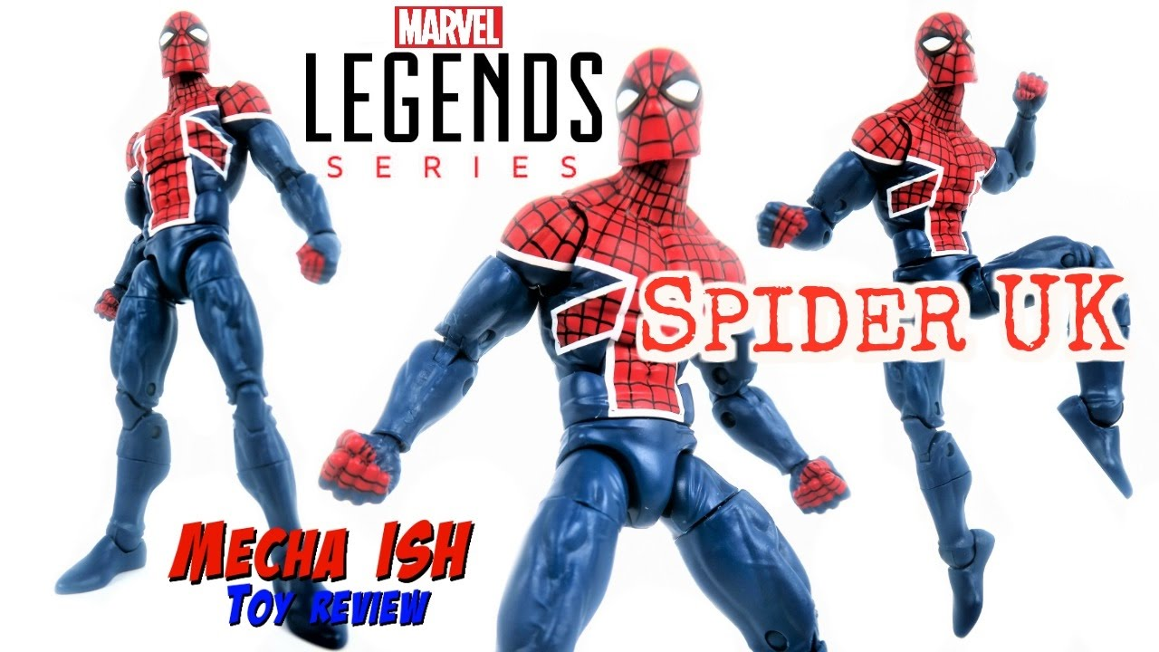 SPIDER MAN SPIDER-UK Marvel Legends  6in Action Figure BAF SANDMAN NEW
