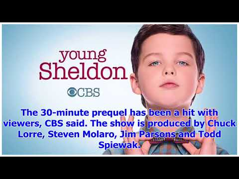 [Breaking News]' Big Bang Theory ' Spinoff ' Sheldon ' Young Was A Second Season