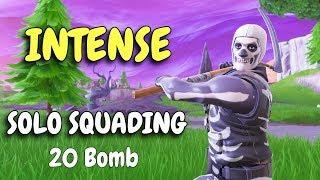 INTENSE SOLO SQUADING | 20 BOMB