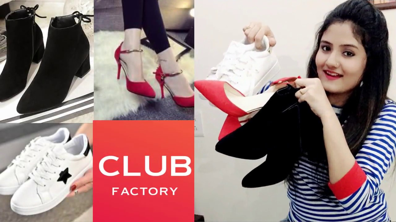 CLUB FACTORY || Casual Shoes, High