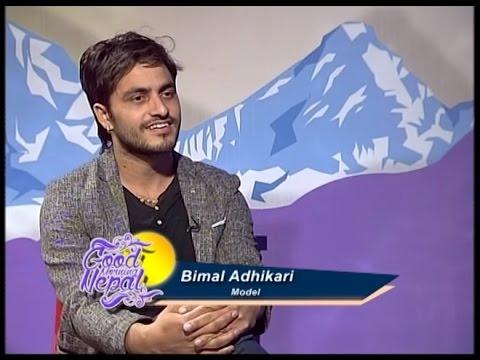 Interview With Model Bimal Adhikari By Shobha Tripathi