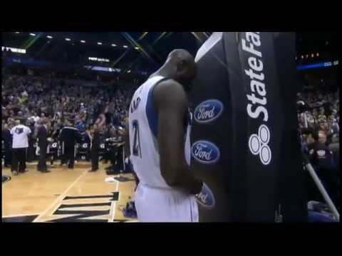 Kevin Garnett's Return to Minnesota! (Introduction and Tip-off)