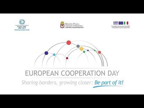 European Cooperation Day 2013. Sharing Borders, Growing Closer: Be Part Of It!
