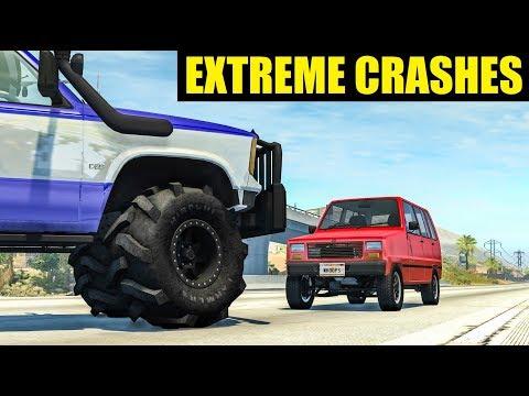 Extreme Crashes #86 - BeamNG Drive