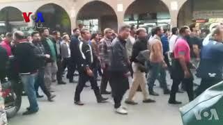 شعار کارگران فولاد در اهواز: نصر من الله و فتح قریب مرگ بر این دولت مردم فریب