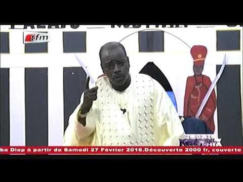Farba Ngom et son vote - Kouthia show - 26 Fevrier 2016 - TFM