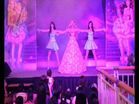 Barbie the princess and the Popstar live at jurong point singapore