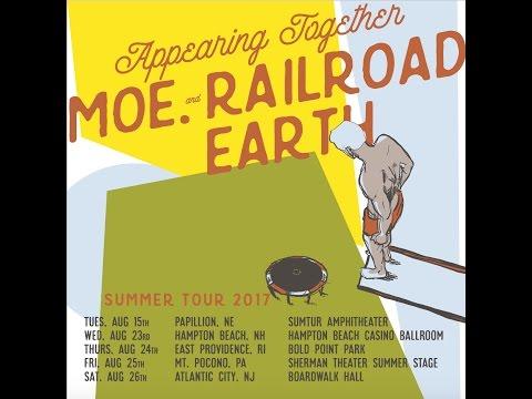 moe. & Railroad Earth Summer Tour 2017!