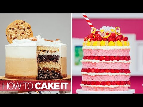 5 SUPER Satisfying Cakes in 10 minutes | Compilation | How to Cake It Step by Step