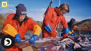 Jegertvillingene | Jegertvillingene konkurrerer i å filetere fisk | TVNorge