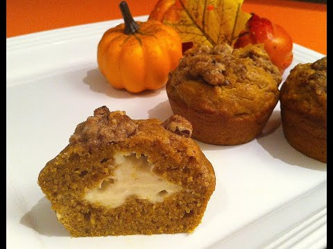 Pumpkin & Spice Cream Cheese Muffins Recipe - Episode #63