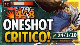 ¡NO AGUANTAN NADA! | DAÑO ABSURDO CON 2 ITEMS! | YASUO | League of Legends