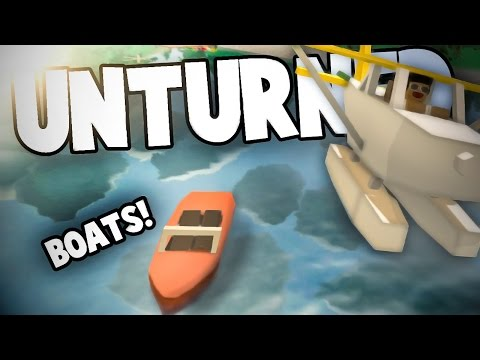 Unturned 3.14.2.0: DRIVABLE BOATS! (Jetski, Otter, Runabout, Amphibious APC)
