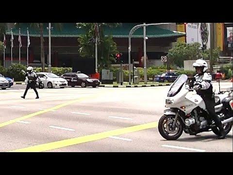 Singapore Police making VIP pass