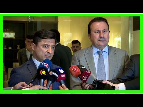 Breaking News | KDP, PUK announce Kurdistan's united front in dealing with Baghdad