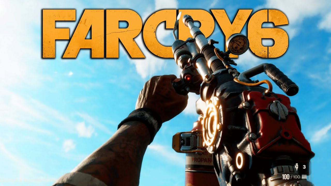 Download FAR CRY 6 - All Weapons So Far (All Reload Animations and Sounds)