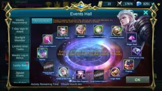 Mobile Legends: Child Of Fall Alucard Lucky Box Opening