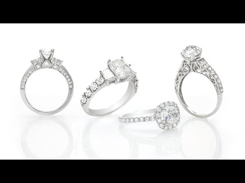 Custom Engagement Rings Houston Inter-Continental Jewelers