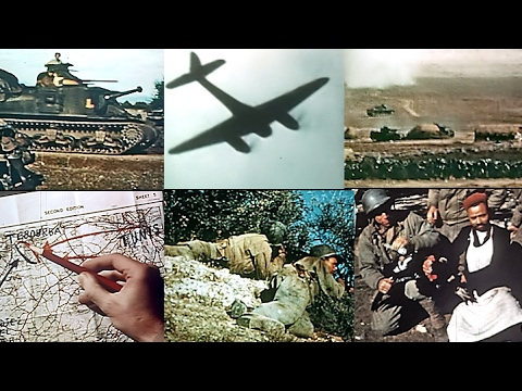 News From the Front in North Africa - 1942: Aircraft and Armored Action (Restored Color)