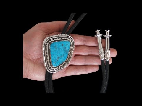 navajo-natural-gem-grade-water-web-95.98-cts-morenci-turquoise-bolo-tie---allison-lee-(#187)