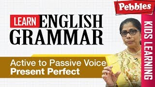 Learn English Grammar | Active to Passive Voice - present perfect | CBSE Basic English