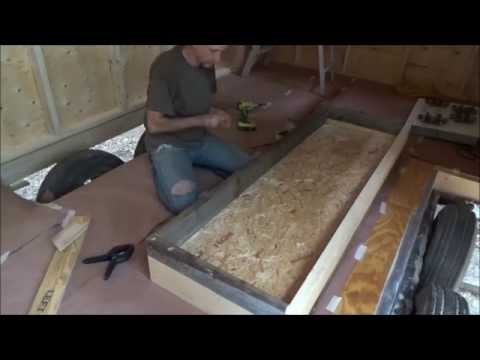 Rain On My Tiny Home And Framing In The Wheel Well