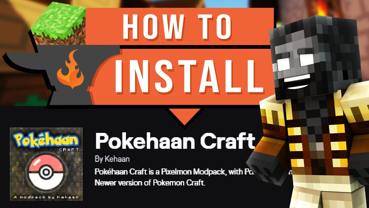 How To Download And Install Pokehaan Craft on CurseForge Launcher