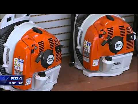Thieves Target Lewisville Lawn Equipment Store