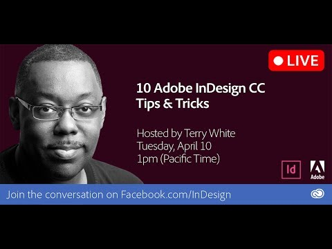 10 Adobe InDesign CC Tips & Tricks