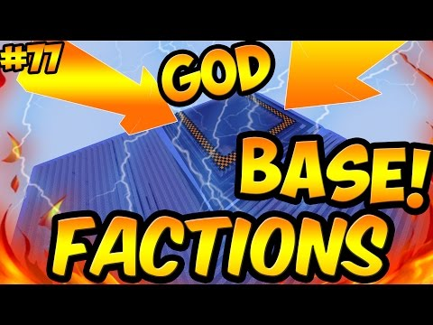 NEW CRAZILY OP GOD BASE!! | Minecraft Cosmic PvP EP:77 Goodness Planet| COSMIC FACTIONS