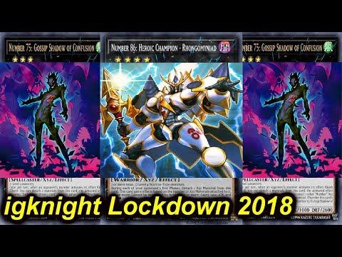 【YGOPRO】IGKNIGHT LOCKDOWN DECK 2018