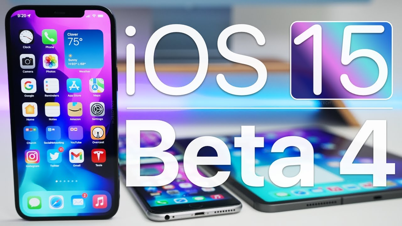 Download iOS 15 Beta 4 is Out! - What's New?