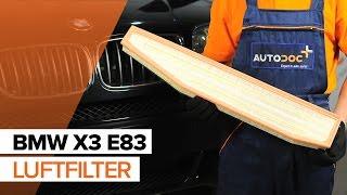 Wie BMW X3 (E83) Halter, Stabilisatorlagerung austauschen - Video-Tutorial